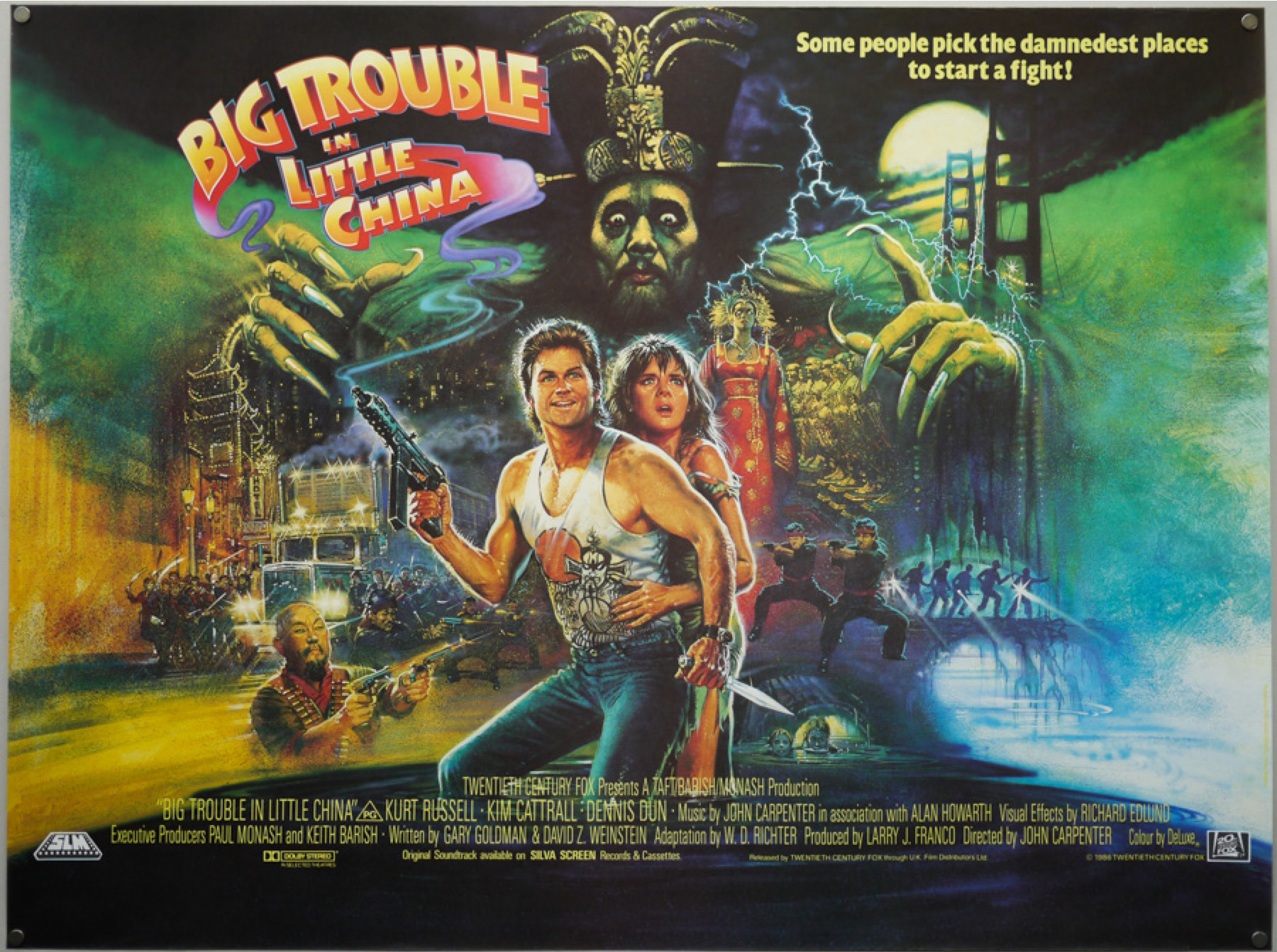 Big Trouble In Little China Wallpapers Movie Hq Big Trouble In
