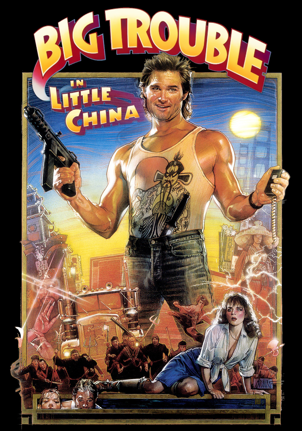 1000x1426 > Big Trouble In Little China Wallpapers