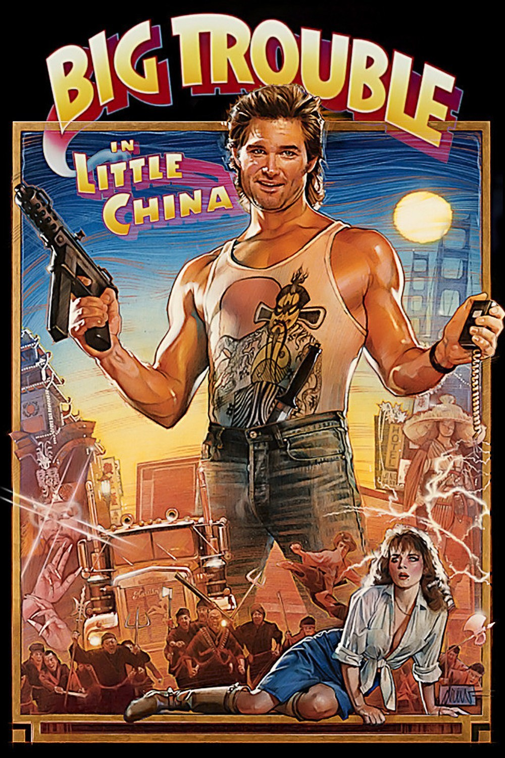 Images of Big Trouble In Little China | 1000x1500