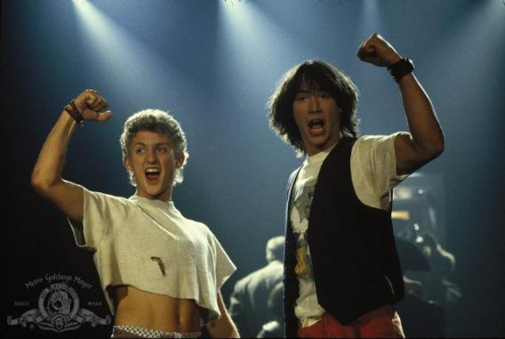 Bill & Ted's Excellent Adventure High Quality Background on Wallpapers Vista