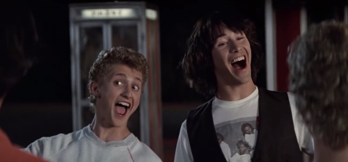 712x332 > Bill & Ted's Excellent Adventure Wallpapers