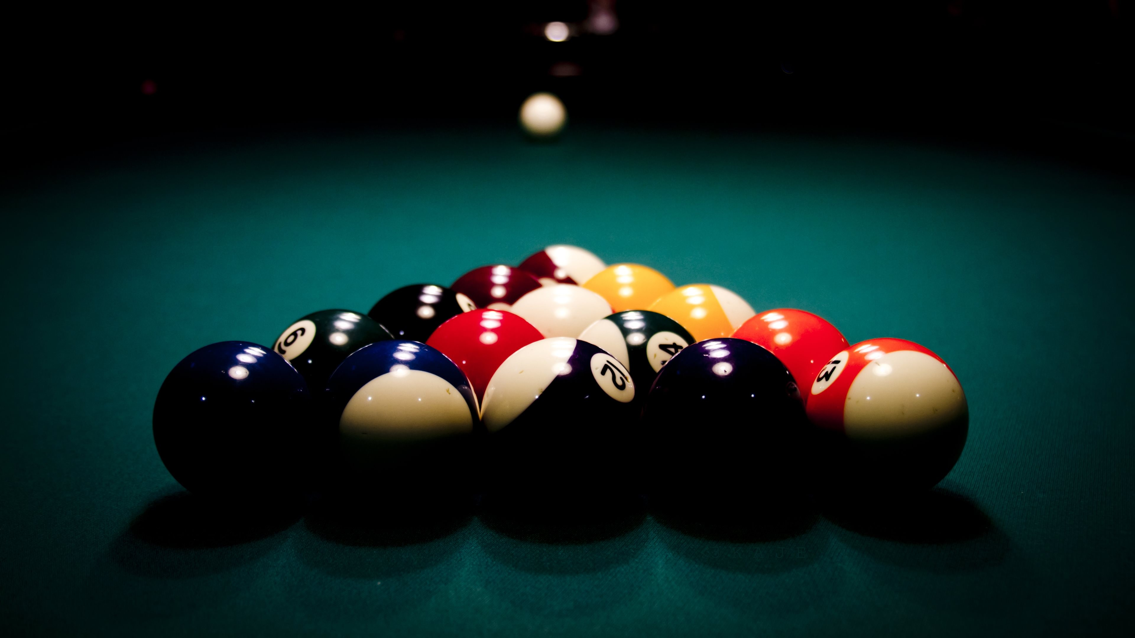High Resolution Wallpaper | Billard 3840x2160 px