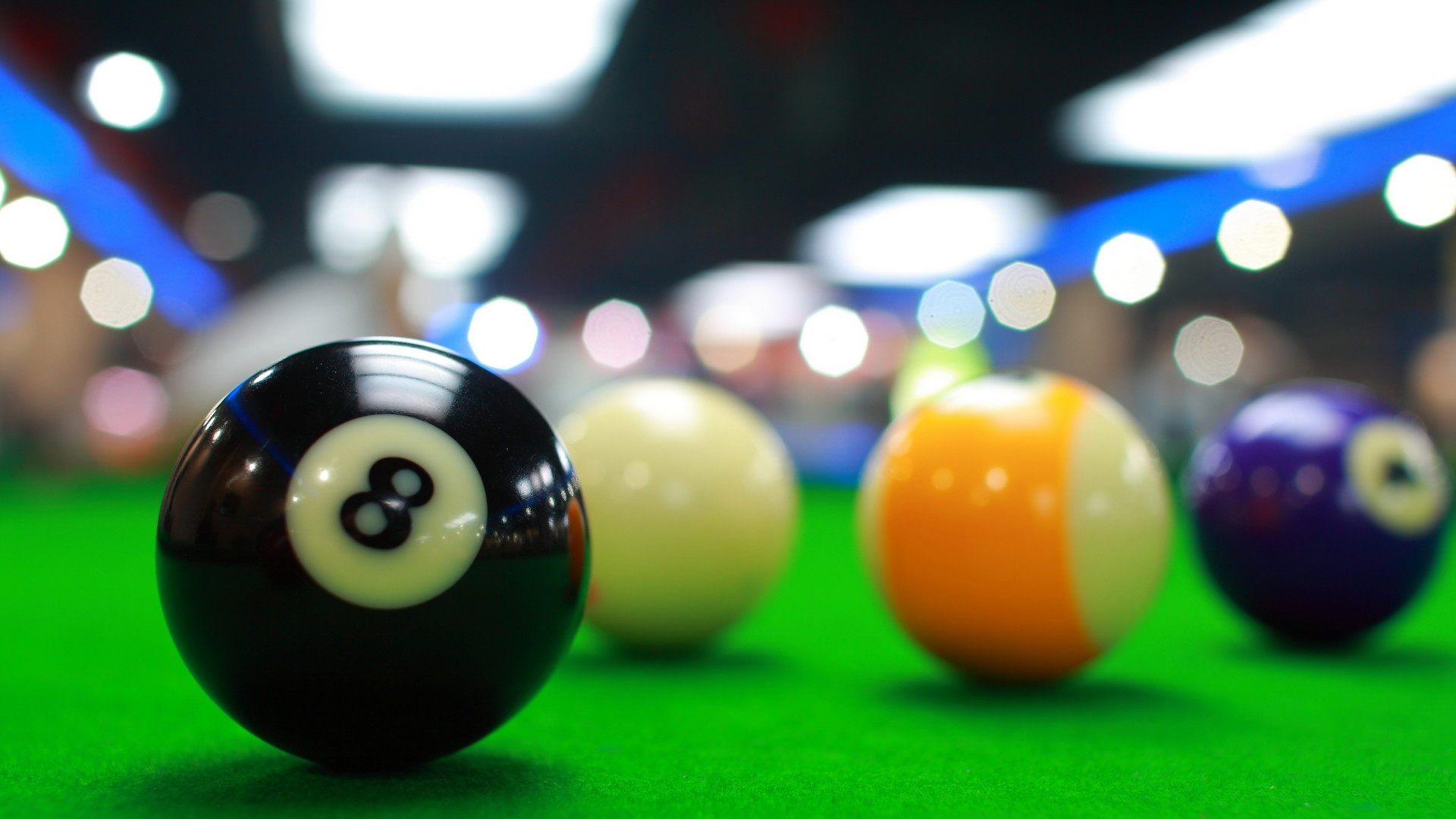 HD Quality Wallpaper | Collection: Game, 1920x1080 Billiard