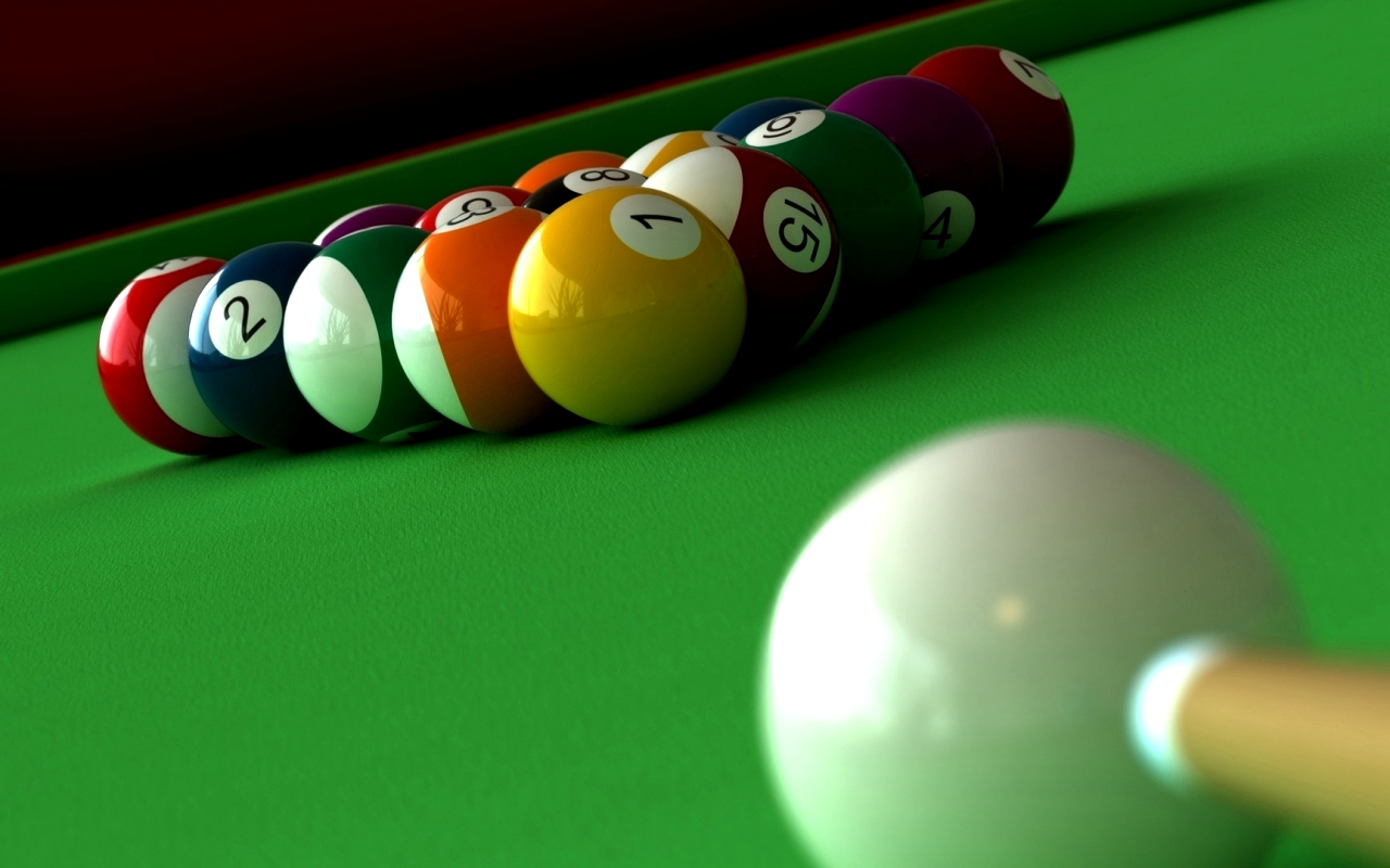 Nice Images Collection: Billiard Desktop Wallpapers