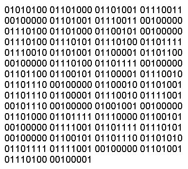 Binary High Quality Background on Wallpapers Vista
