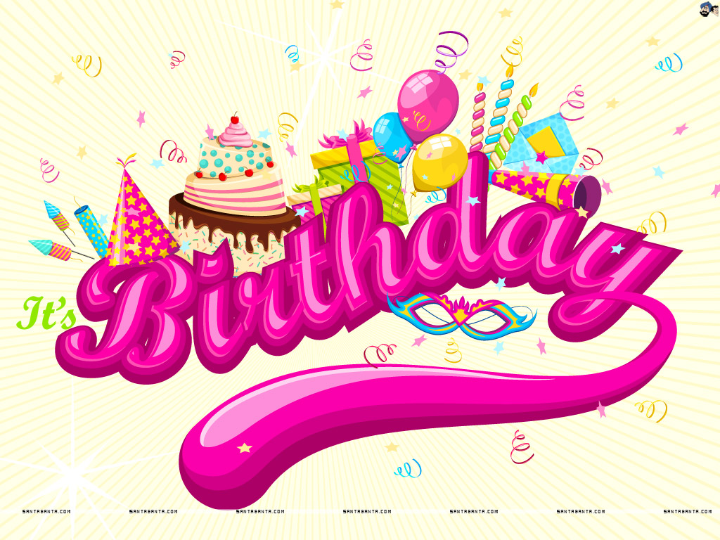 1024x768 > Birthday Wallpapers