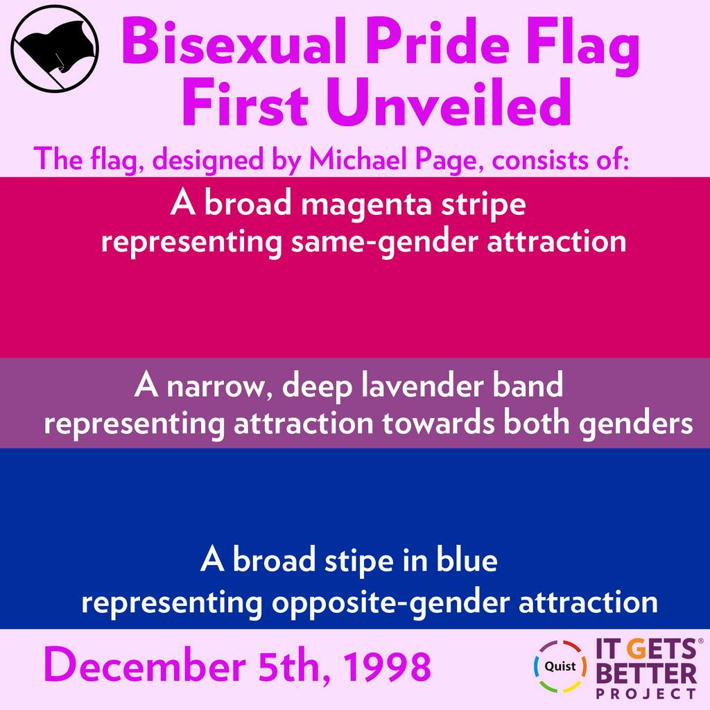Bisexual Pride Flag Backgrounds, Compatible - PC, Mobile, Gadgets| 1024x1024 px