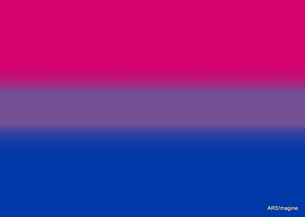 High Resolution Wallpaper | Bisexual Pride Flag 1024x731 px