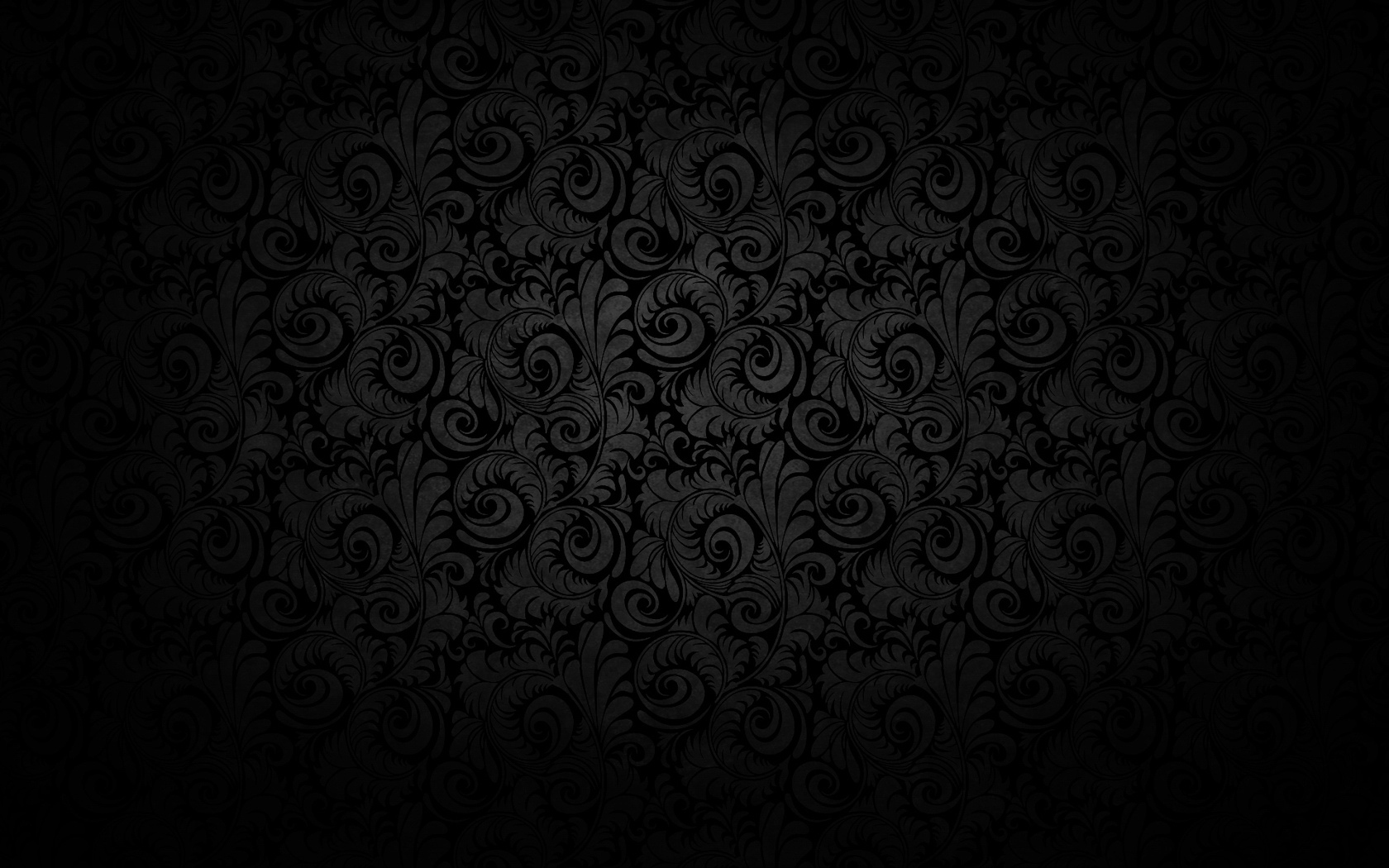 1680x1050 > Black Wallpapers