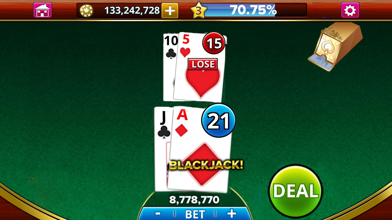 Nice wallpapers Blackjack 1600x900px