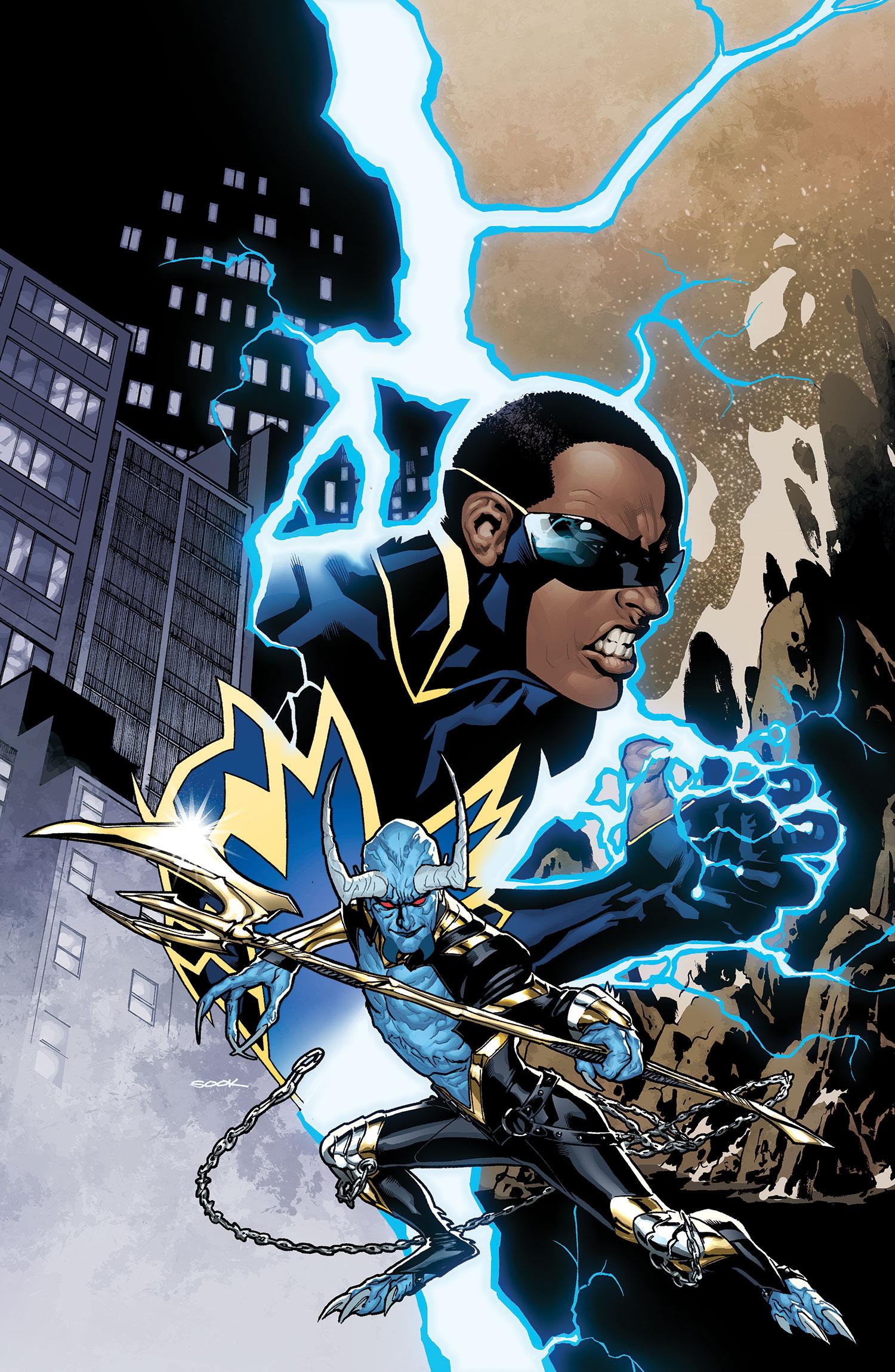 Amazing Black Lightning Pictures & Backgrounds