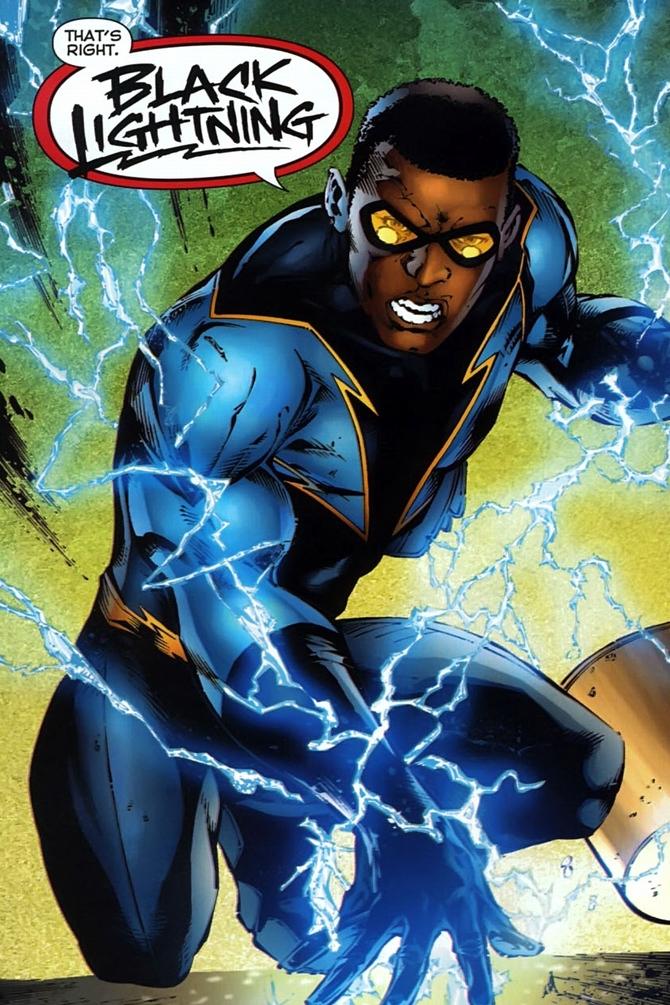 Black Lightning Pics, Comics Collection