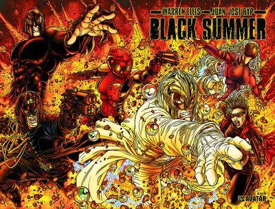 Black Summer Pics, Comics Collection