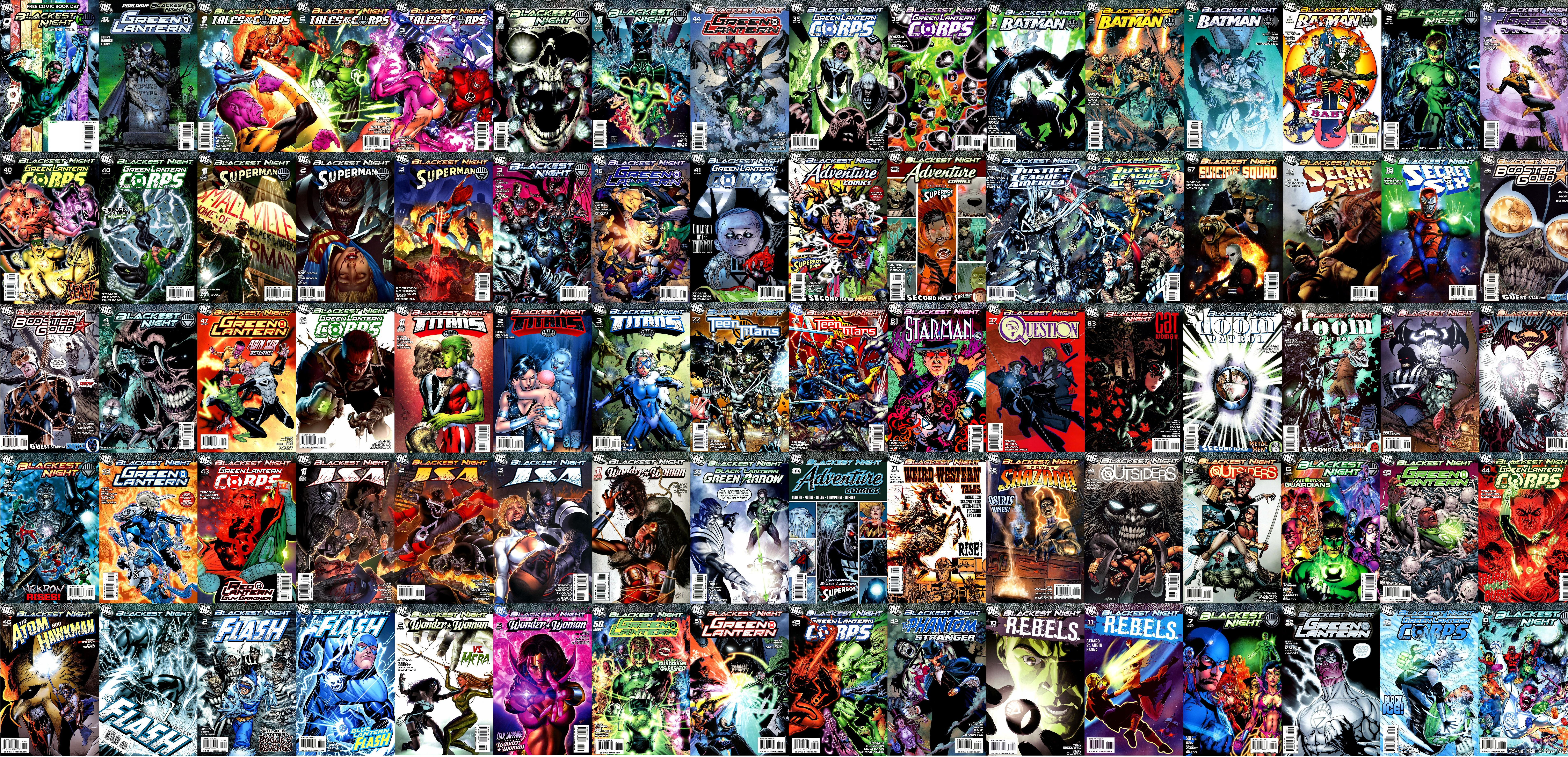 Nice Images Collection: Blackest Night Desktop Wallpapers