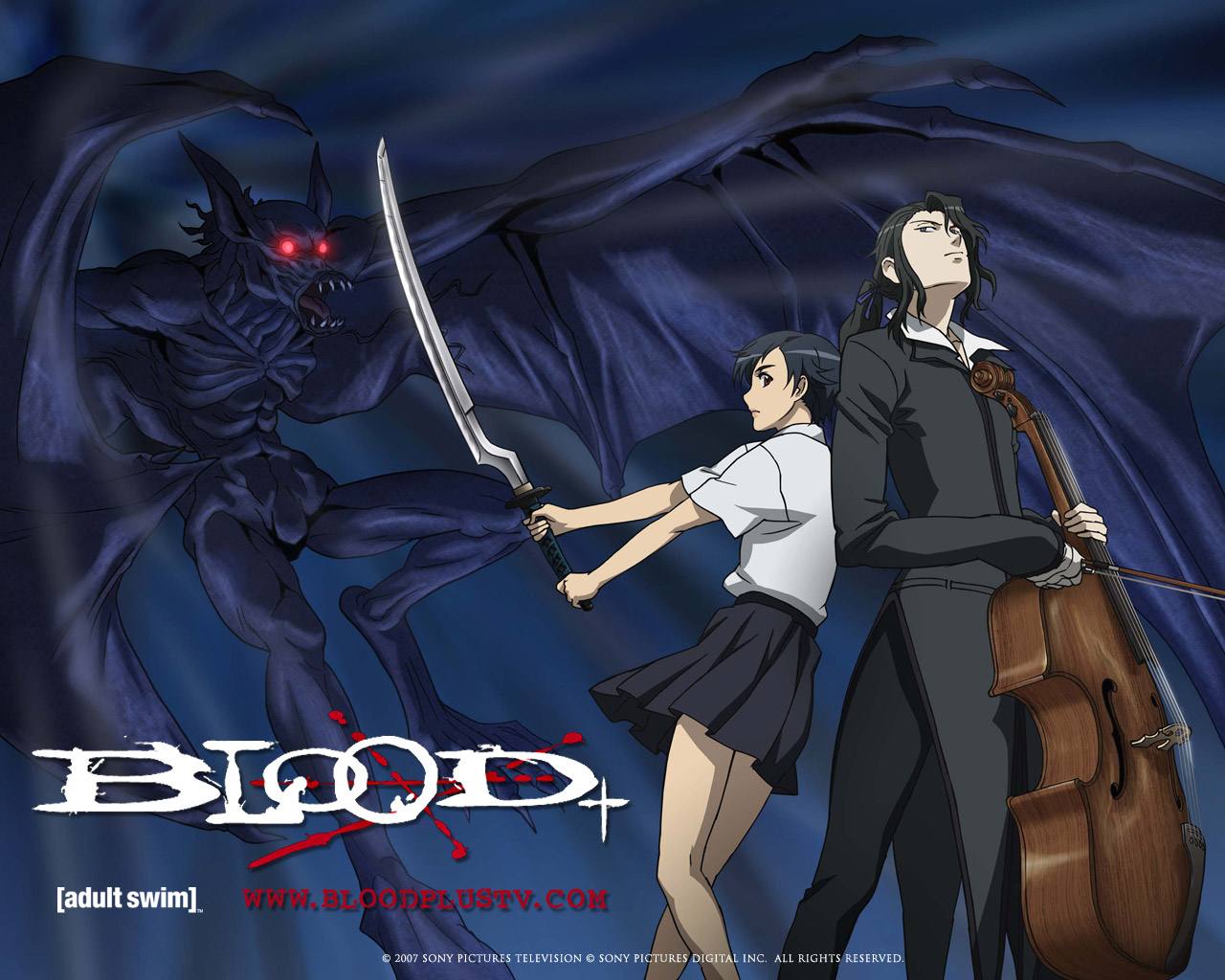 HQ Blood+ Wallpapers   File 263.63Kb