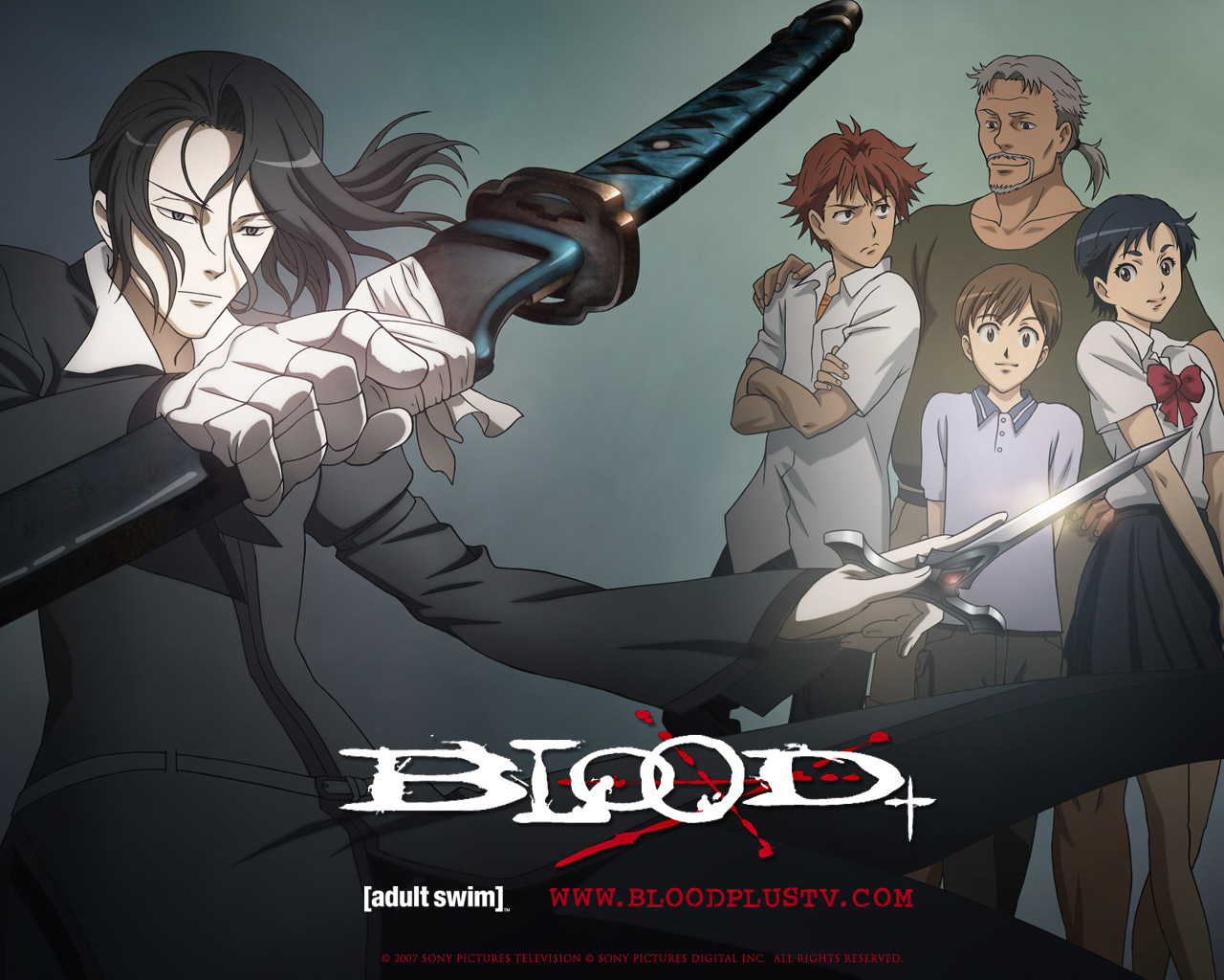 Nice Images Collection: Blood+ Desktop Wallpapers