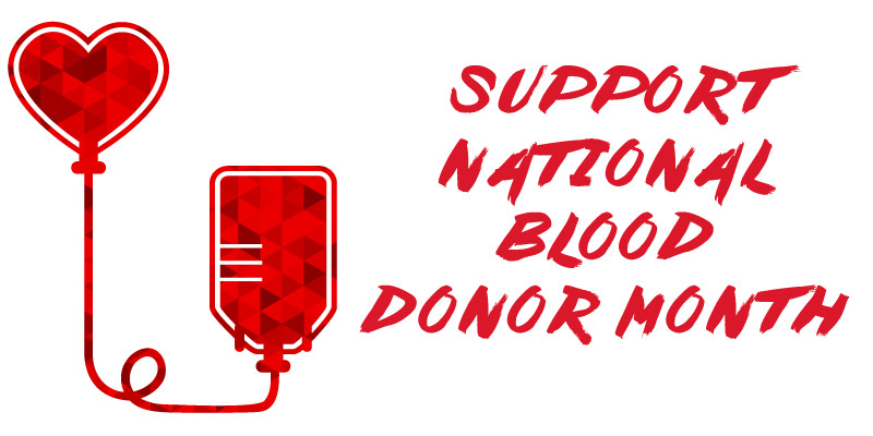 Images of Blood Donor Month | 800x400