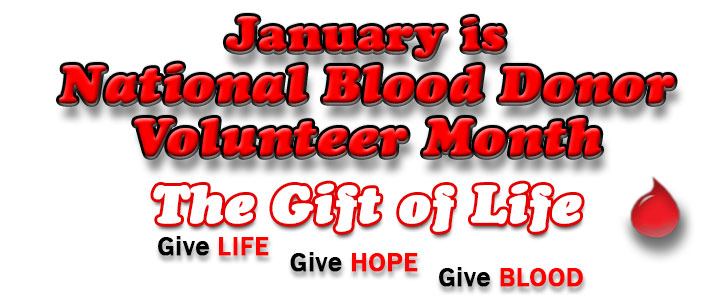 Nice wallpapers Blood Donor Month 725x295px