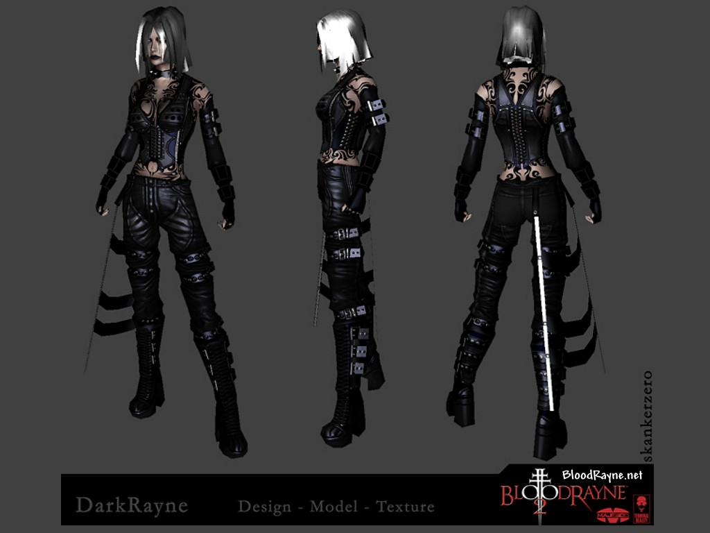 bloodrayne betrayal concept art