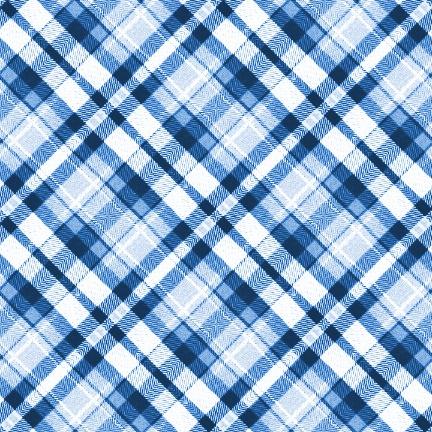 Nice Images Collection: Blue Plaid Desktop Wallpapers