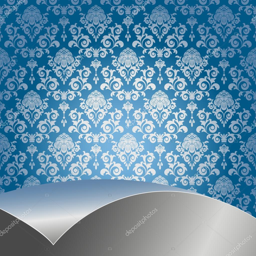 Nice Images Collection: Blue Silver Desktop Wallpapers