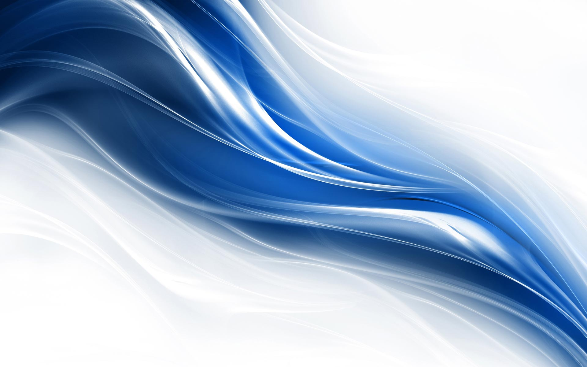 Nice Images Collection: Blue White Desktop Wallpapers
