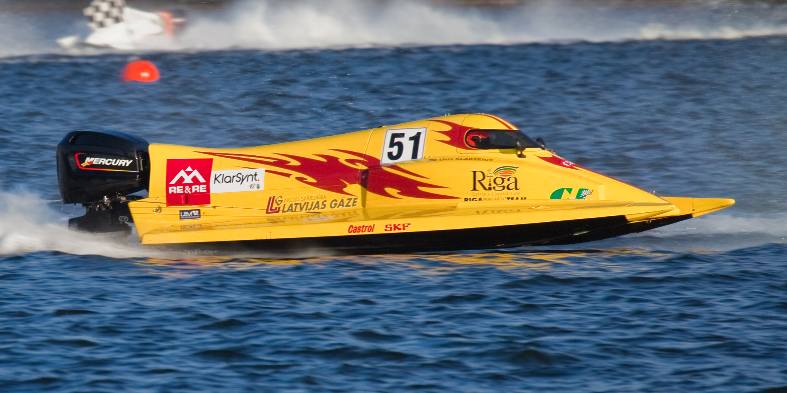 Nice wallpapers Boat Racing 2606x1303px