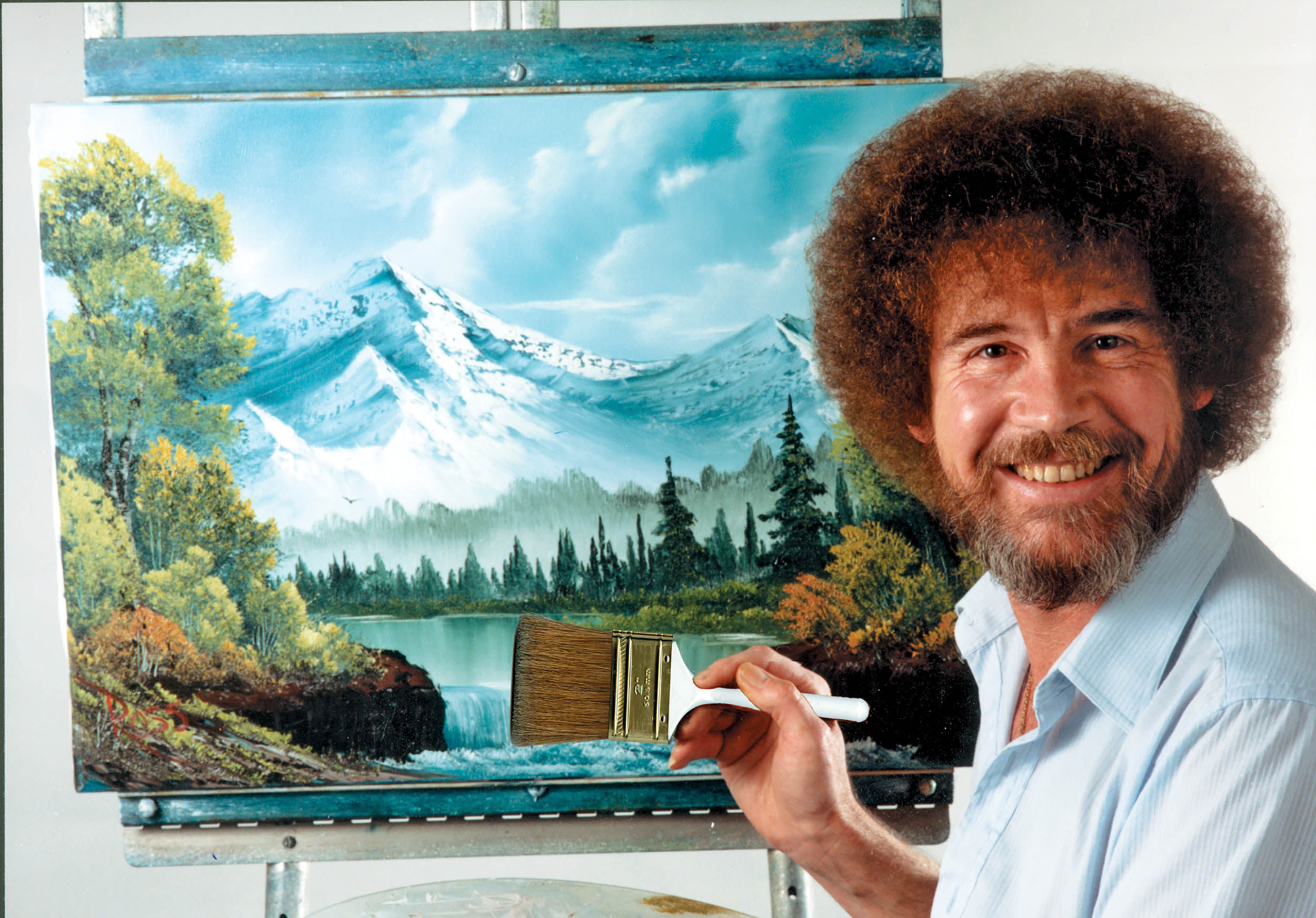 Nice wallpapers Bob Ross 2500x1745px