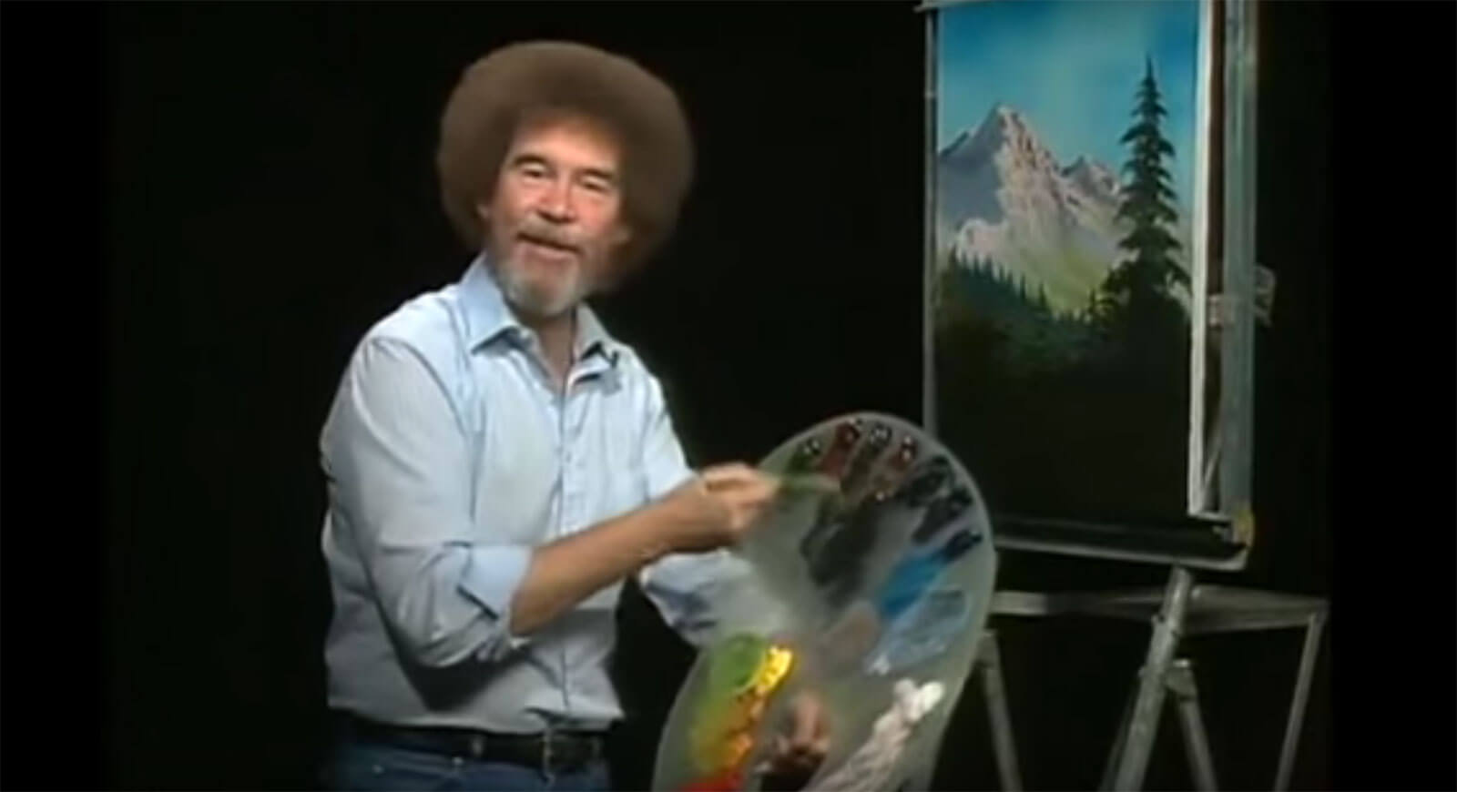 Nice wallpapers Bob Ross 1600x870px