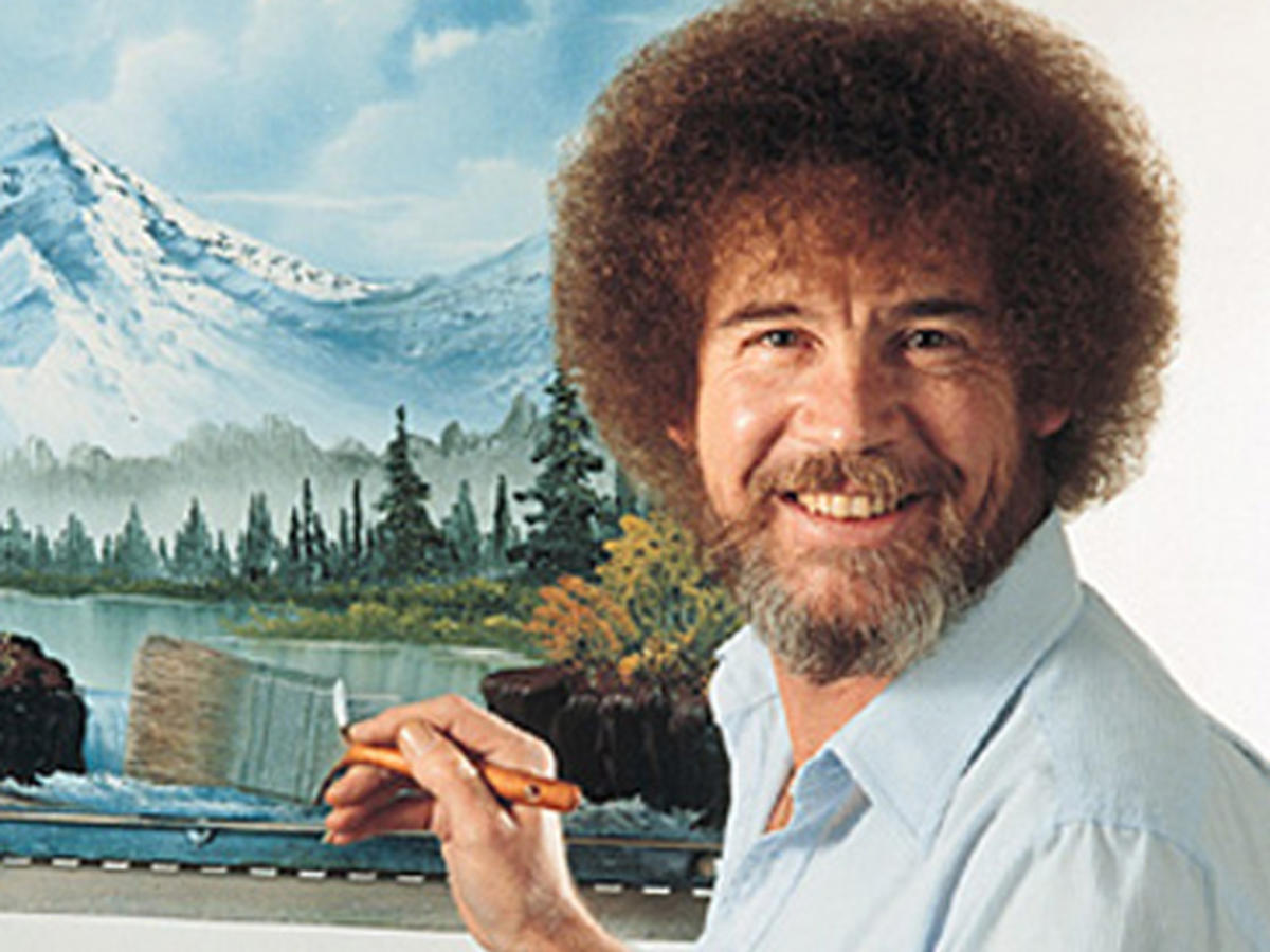 HD Quality Wallpaper | Collection: Men, 1200x900 Bob Ross