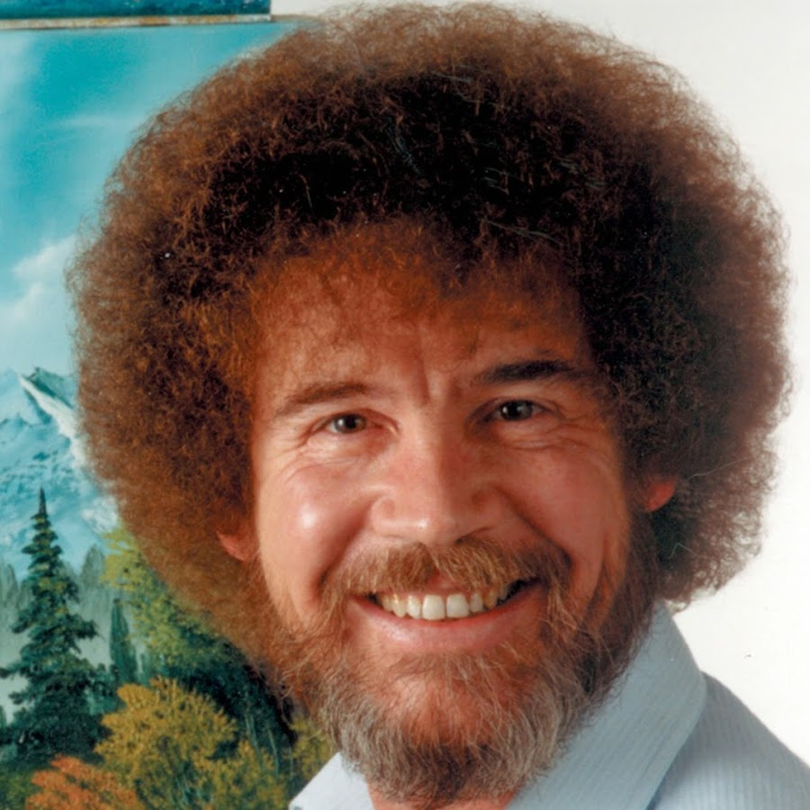 Nice Images Collection: Bob Ross Desktop Wallpapers