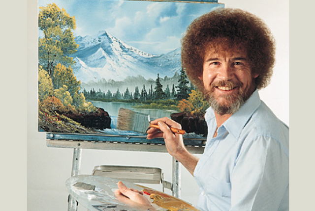 HD Quality Wallpaper | Collection: Men, 640x430 Bob Ross