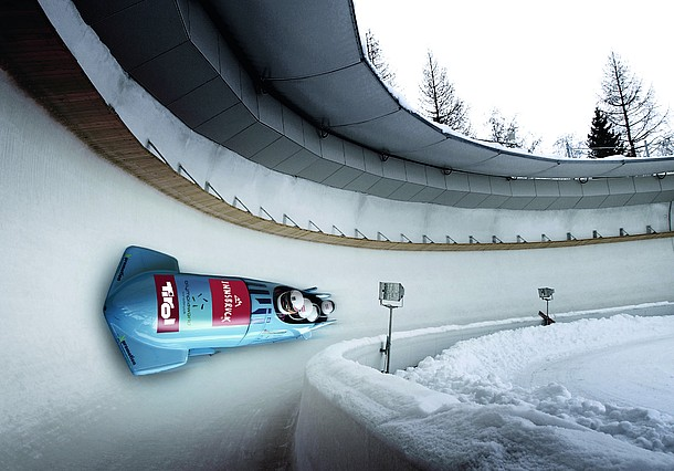 Nice Images Collection: Bobsleigh Desktop Wallpapers