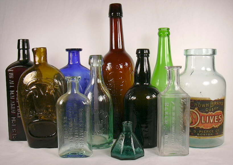 HD Quality Wallpaper | Collection: Abstract, 819x580 Bottles