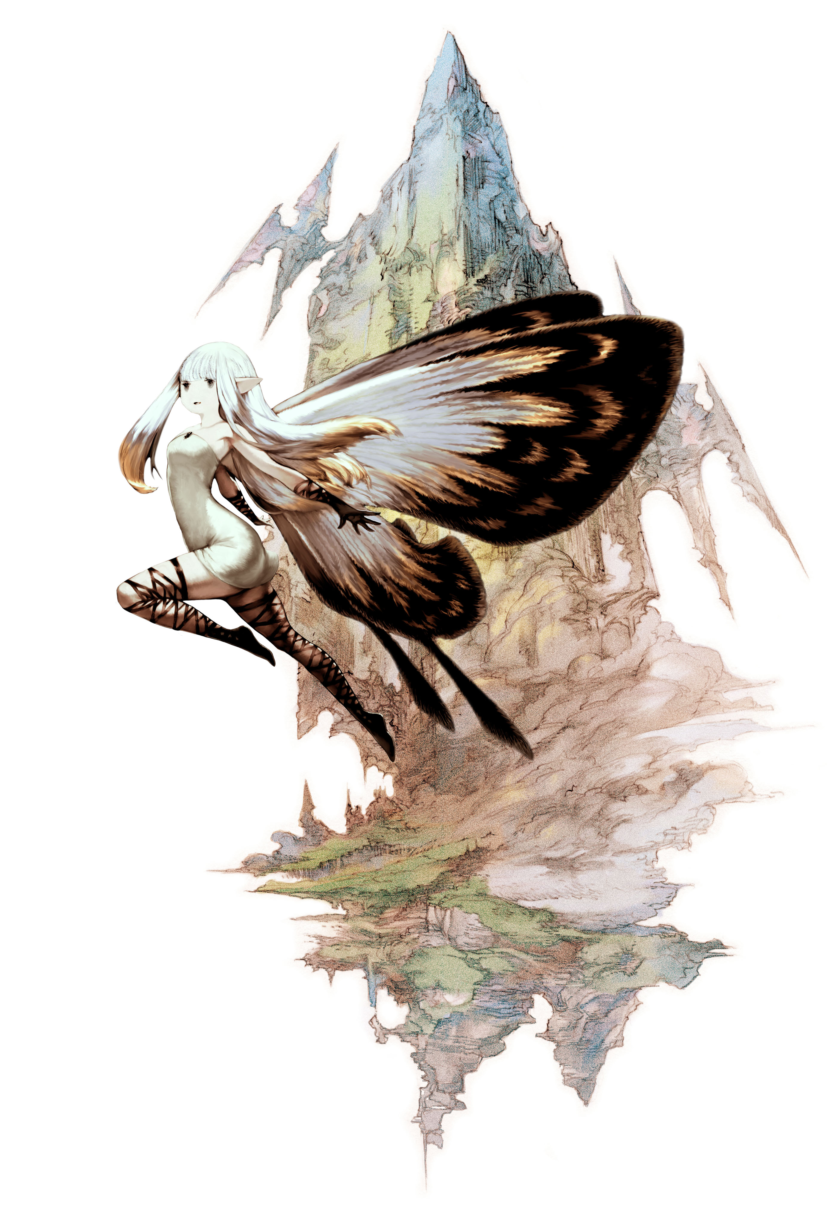 HD Quality Wallpaper | Collection: Video Game, 2801x4052 Bravely Default
