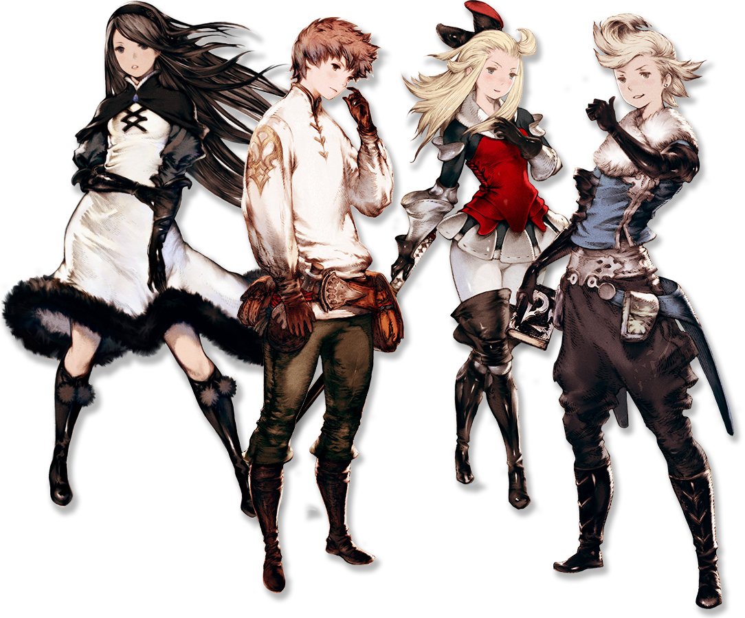 HD Quality Wallpaper | Collection: Video Game, 1084x900 Bravely Default