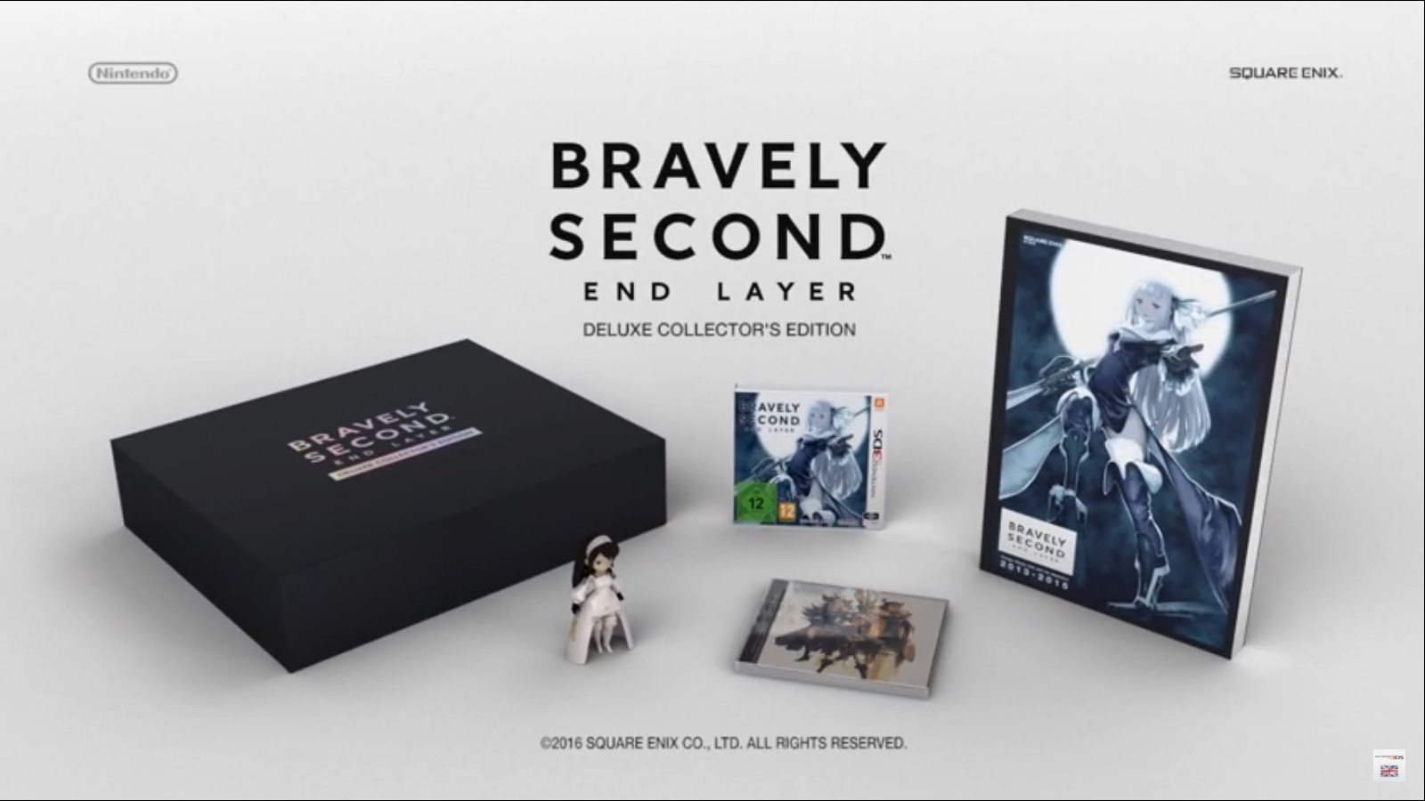 HD Quality Wallpaper | Collection: Video Game, 1600x900 Bravely Second: End Layer