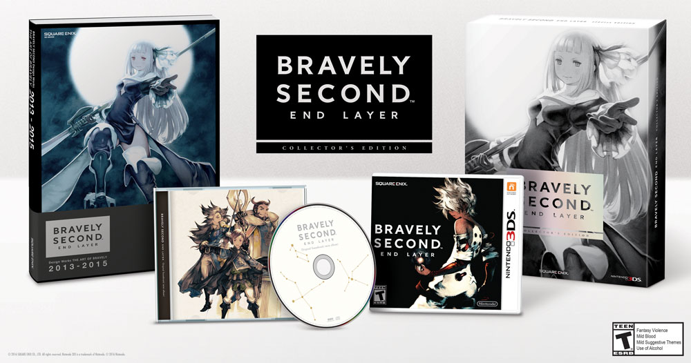 Nice Images Collection: Bravely Second: End Layer Desktop Wallpapers
