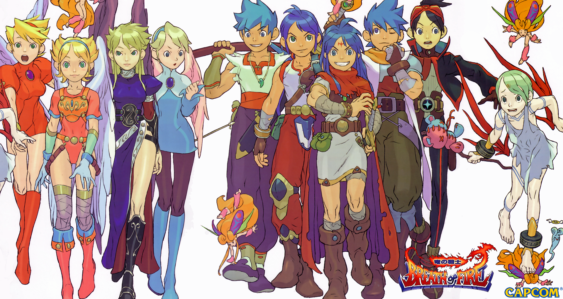 HQ Breath Of Fire Wallpapers | File 2486.88Kb