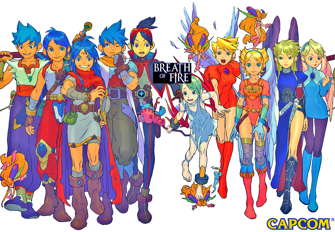 HQ Breath Of Fire Wallpapers | File 1984.96Kb
