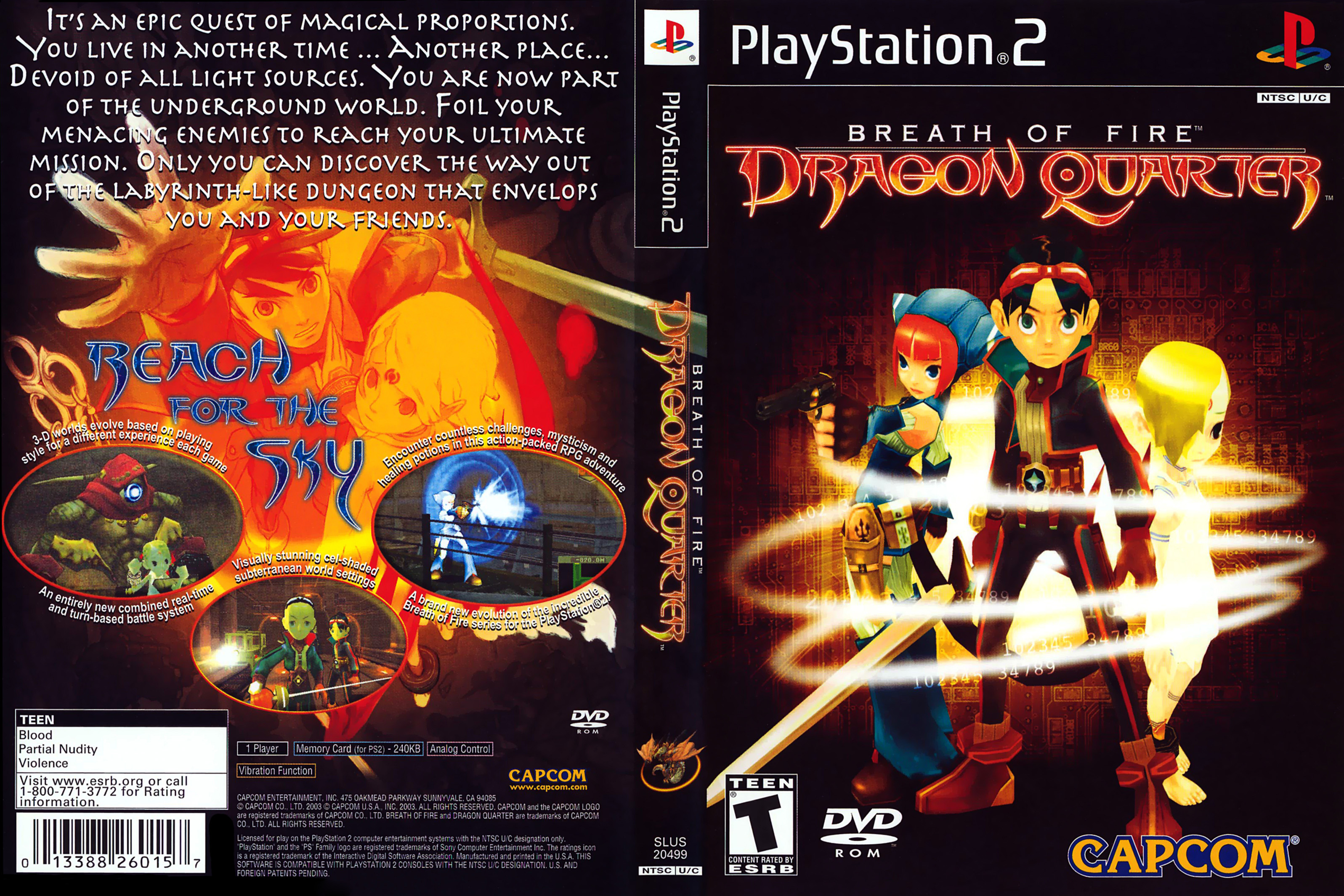 Breath Of Fire: Dragon Quarter High Quality Background on Wallpapers Vista