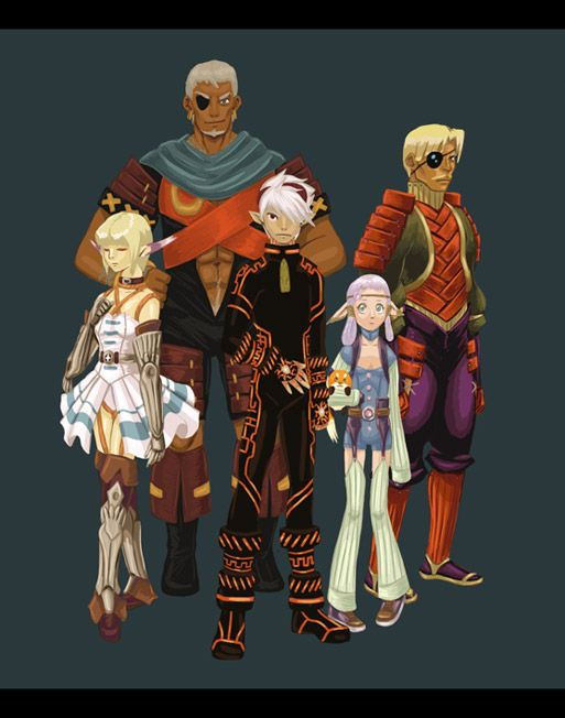 Images of Breath Of Fire: Dragon Quarter   513x652