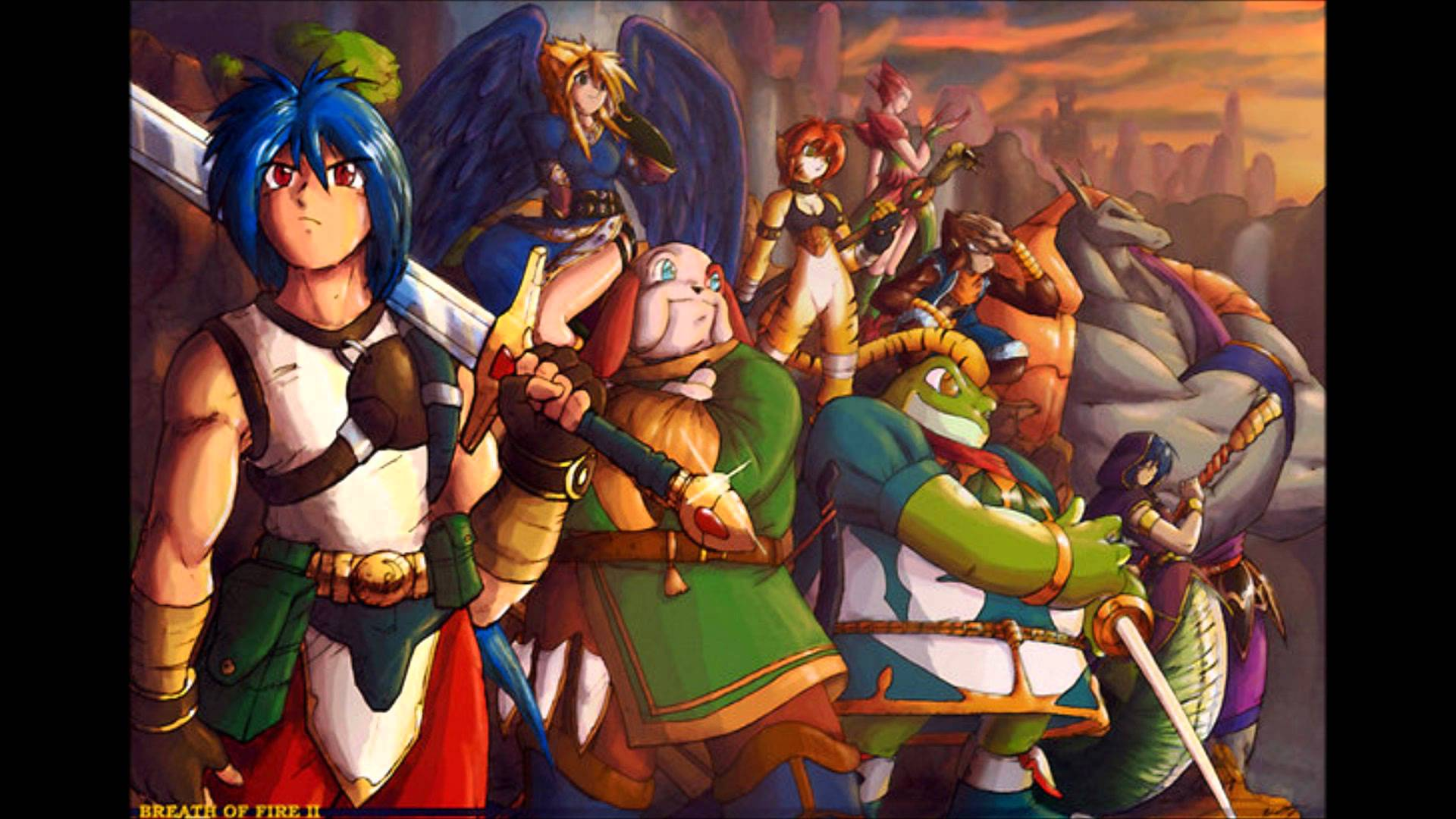 Breath Of Fire II Backgrounds, Compatible - PC, Mobile, Gadgets| 1920x1080 px