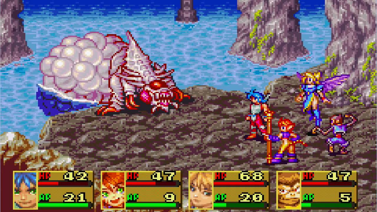 Nice Images Collection: Breath Of Fire II Desktop Wallpapers