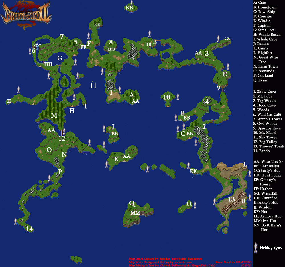 Breath Of Fire II Backgrounds, Compatible - PC, Mobile, Gadgets| 1000x936 px