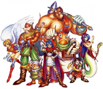 Nice Images Collection: Breath Of Fire Desktop Wallpapers