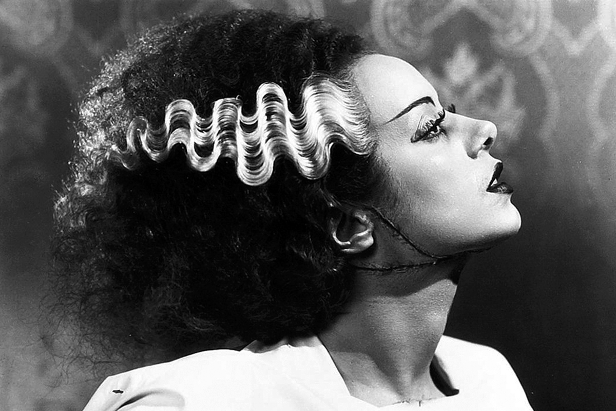 Nice Images Collection: Bride Of Frankenstein  Desktop Wallpapers