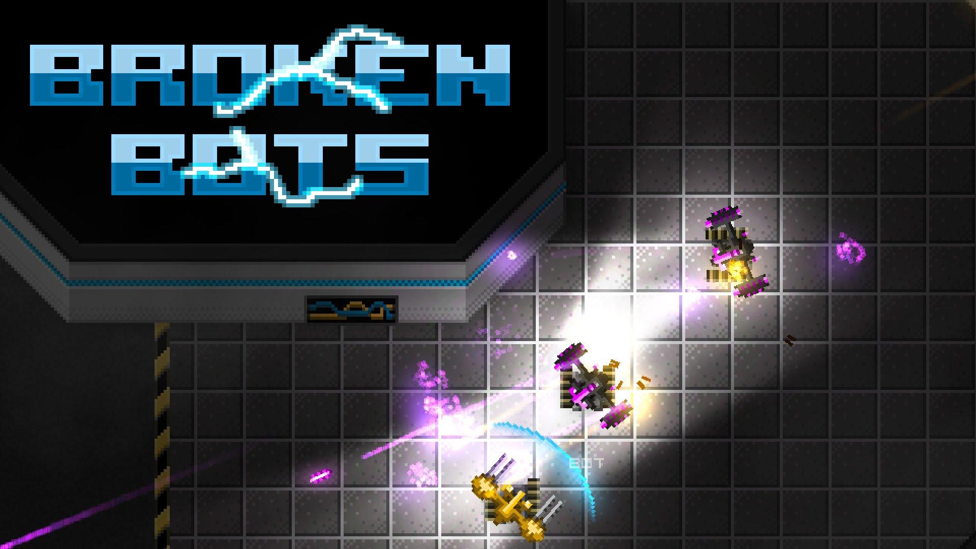 HQ Broken Bots Wallpapers   File 210.51Kb