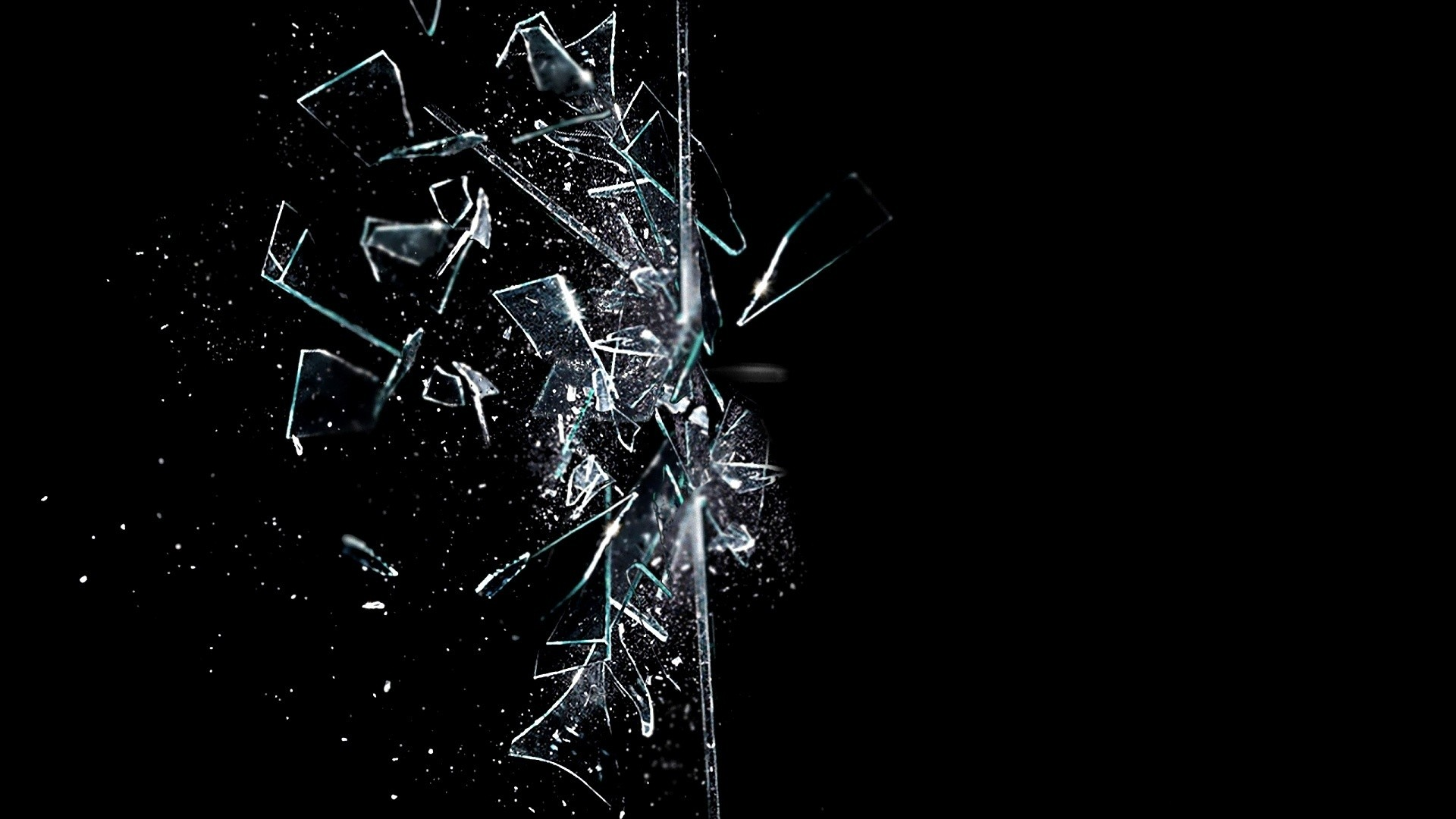 Broken Glass Backgrounds, Compatible - PC, Mobile, Gadgets| 1920x1080 px