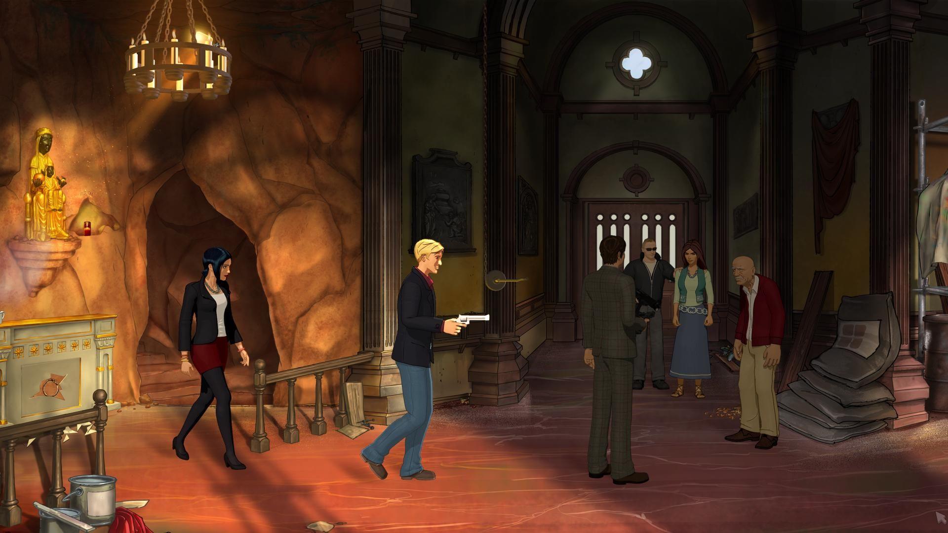 Broken Sword 5: The Serpent's Curse Backgrounds on Wallpapers Vista